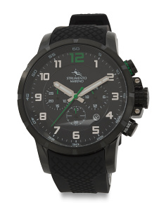 Men's Designed In Italy Summertime Chrono Watch