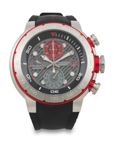 Men's Designed In Italy Saint Tropez Chrono Dive Watch
