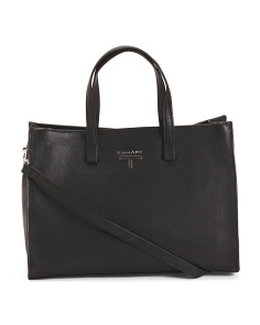 Madison Leather Satchel