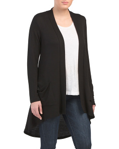 Midi Two Pocket Cardigan
