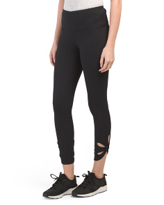 Nulu O Ring High Waist Ankle Leggings