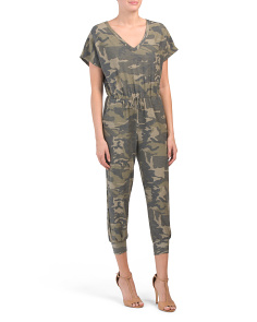 Made In Usa Camo Jumpsuit