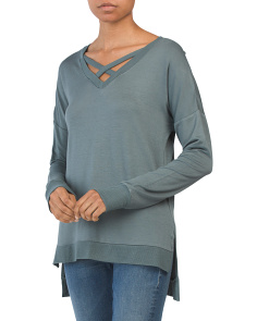 Cross Neck Tunic