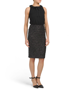 Sparkle Coupe Knit Dress