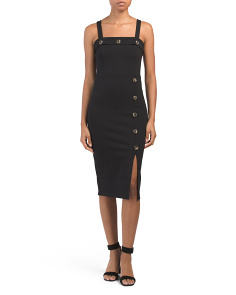 Juniors Ponte Midi Dress