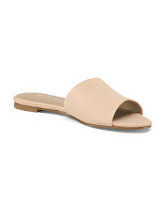 One Band Leather Sandals