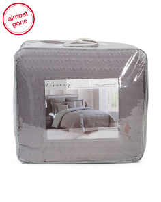 7pc Textured Ellston Comforter Set