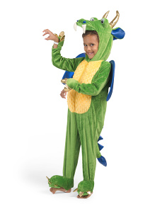 Toddler Dragon In Training Costume