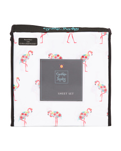 Tropical Flamingos Sheet Set