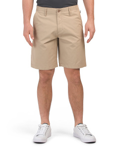Midway Chino Shorts With Side Zip Pocket