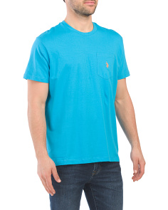 Short Sleeve Solid Classic Pocket Tee