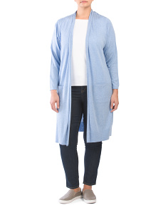 Plus Traveler Duster Cardigan