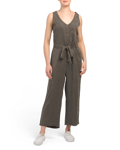 Esperanza Sleeveless V-neck Jumpsuit