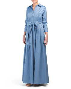 Long Dressy Shirt Dress