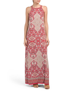 Turkish Stack Print Maxi Dress