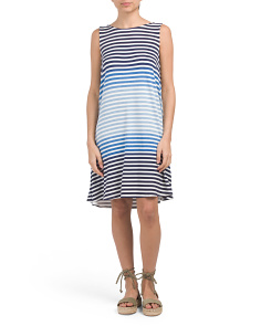 Morgan Stripe Dress
