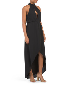 Lindsay Halter Maxi Dress