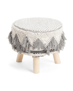 Indoor Outdoor Woven Stool