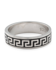 Men's Made In Turkey Band Ring