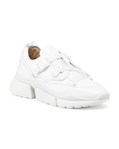 60b06b328773 Made In Italy Calf Leather Sneakers ...