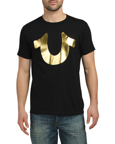 Metallic Horseshoe Tee