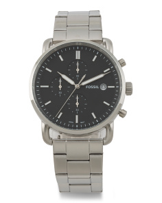 Men's Commuter Chrono Bracelet Watch