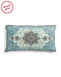 14x26 Antalya Printed Chenille Pillow