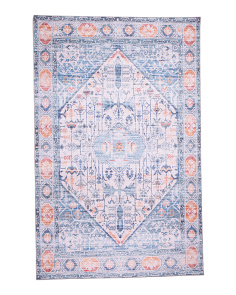 Made In Turkey 5x7 Printed Boho Area Rug