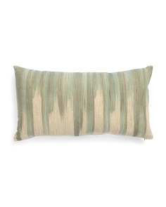 14x26 Textured Hand Dyed Pillow