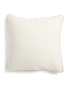 22x22 Textured Pillow