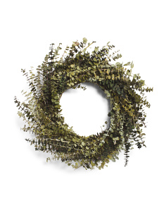 22in Preserved Eucalyptus Wreath