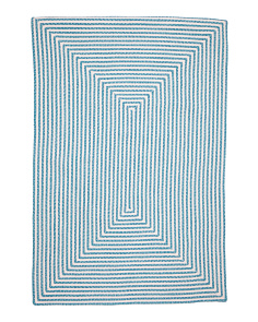 5x7 Indoor Outdoor Braided Rug
