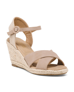 Two Band Ankle Espadrilles