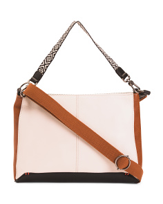 Camila Convertible Leather Crossbody