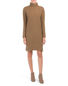 Made In Italy Rib Sweater Dress