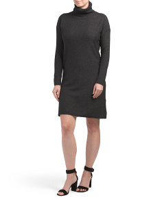 Made In Italy Cashmere Blend Sweater Dress