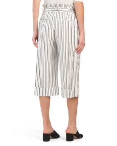 1fc5166c6d1 Ryan Cropped Paper Bag Pants Ryan Cropped Paper Bag Pants