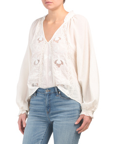 Sivan Embroidered Blouse