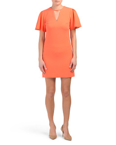 Anderson Crepe Sheath Dress