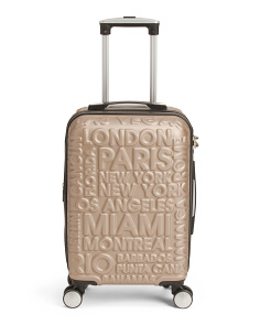 21.5in Destinations Expandable Carry-on