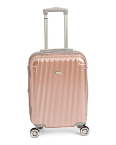 20in Genova Hardside Striped Carry-on