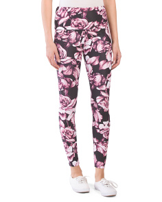 Australian Designed Rose Leggings