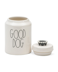 Good Dog Crown Treat Canister