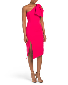 Juniors Asymmetrical Midi Dress