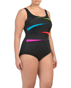Plus Shinebright One-piece Swimsuit