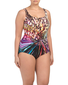 Plus Wildest Dream One-piece Swimsuit