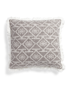 20x20 Diamond Print Pillow