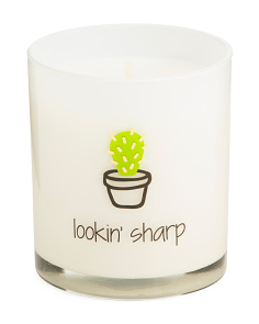 8oz Boxed Cactus In Pot Tumbler Candle