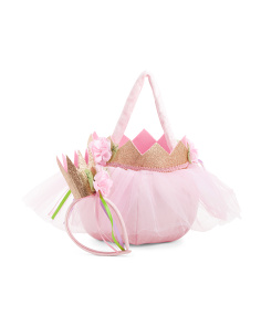 Princess Crown Treat Bag
