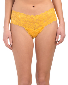 Made In Italy Never Say Never Lace Hot Pants